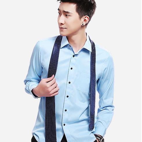 男士长袖白衬衫夏季宽松商务正装韩版潮流半袖休闲短袖衬衣黑色寸