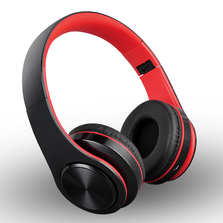 首望 L6X蓝牙耳机头戴式无线游戏运动型跑步耳麦电脑手机男女通用插卡音乐重低音超长待机可接听电话